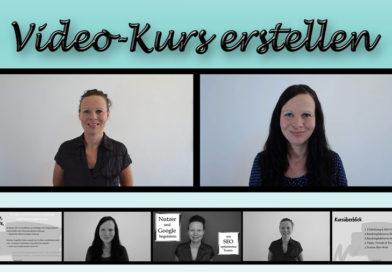 Der Weg zum 1. Video-Kurs